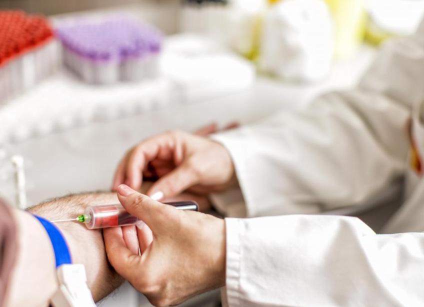 как берут анализ крови на наркотики
